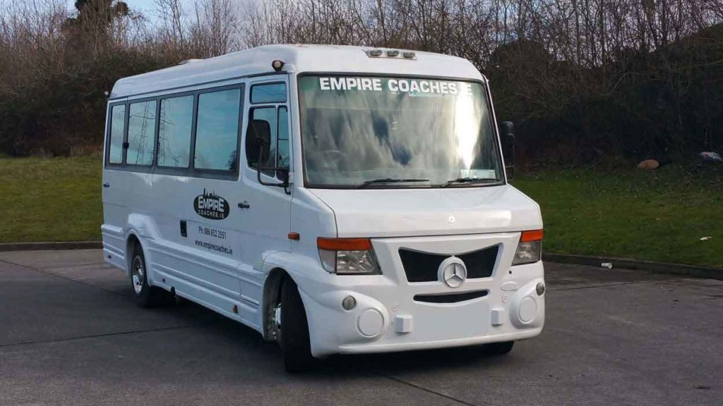 Empire Coaches minibus hire Dublin - Quick Quote - Competitive quick quote